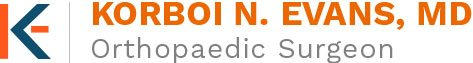 Korboi N Evens, MD - orthopaedic Surgeon Logo